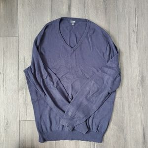 Black J. Crew V-Neck Sweater